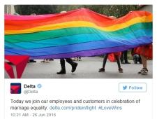 Gay banner