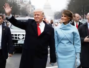 Melania & President blue
