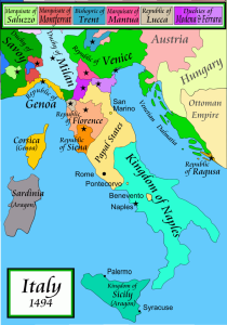 Florence Republic, Italy_1494AD